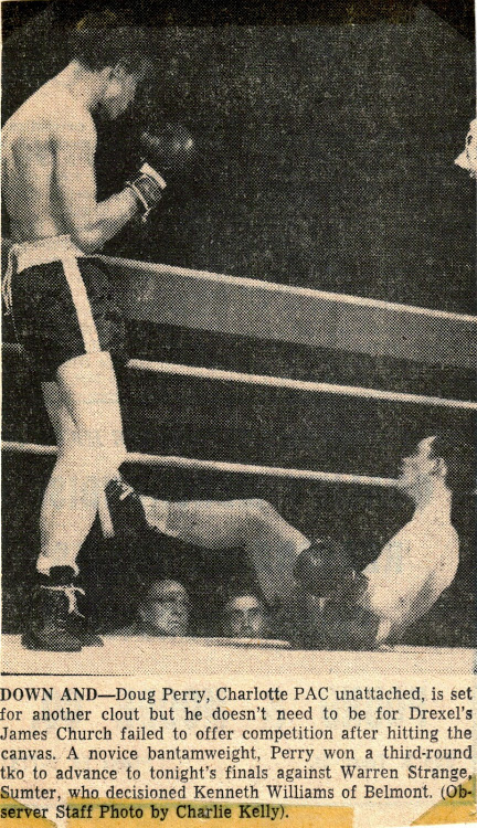 doug perry early boxing career